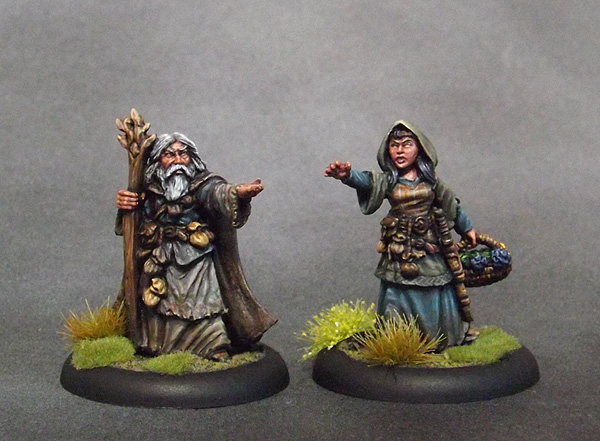 Hedge Witch and Wizard