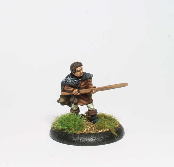 Much the Miller's Son with quarter staff
