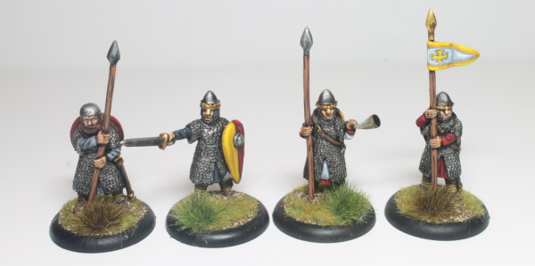 Norman Knights Foot Command