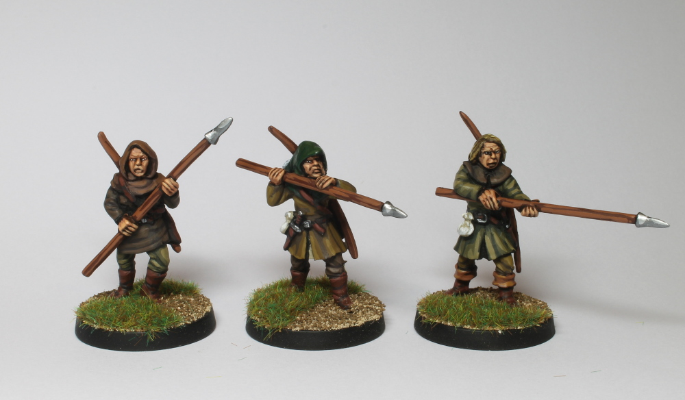 Outlaws with Spears & Bows