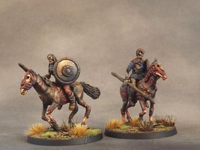 Mounted Barrow Wights